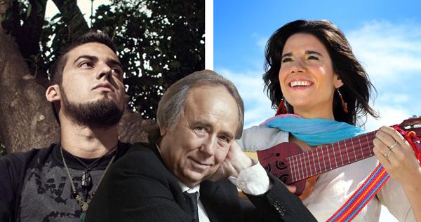 Florencia Cosentino y Juan Ignacio del Rey cantarán con Joan Manuel Serrat