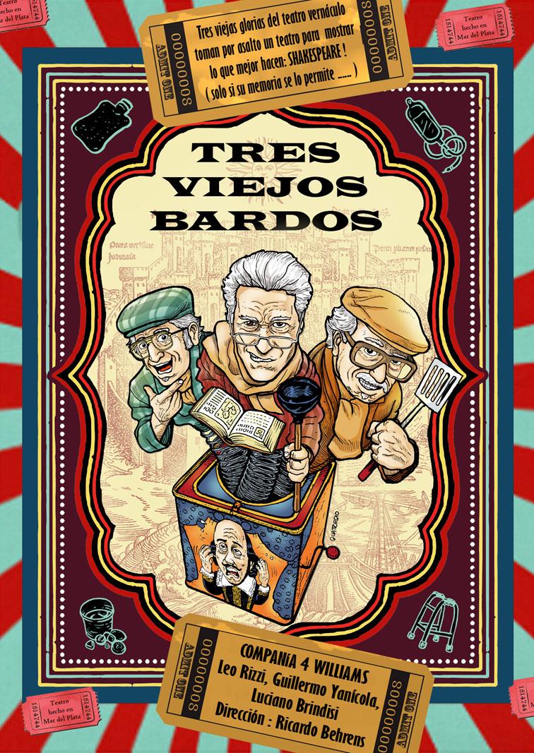 """""""Tres Viejos Bardos"""" para chicos grandes y grandes chicos"""