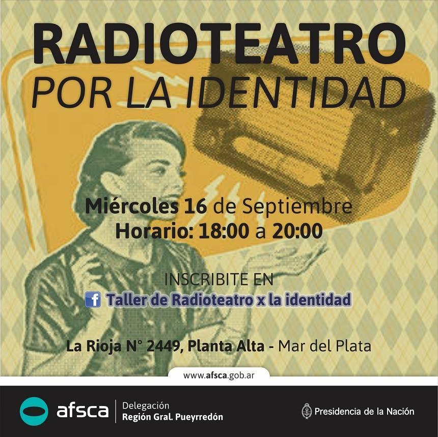 Abuelas de Plaza de Mayo brindan su apoyo al Taller de Radioteatro por la Identidad