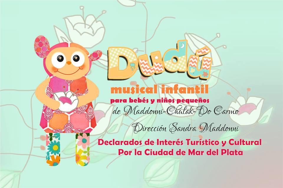 "Vuelve ""DUDÚ"" : teatro para bebés"