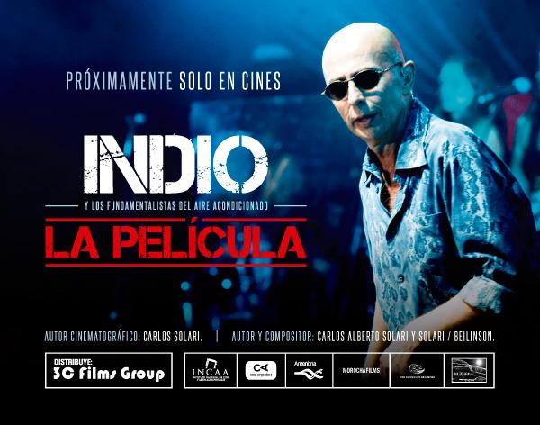 La película del Indio Solari se proyecta en el Auditorium