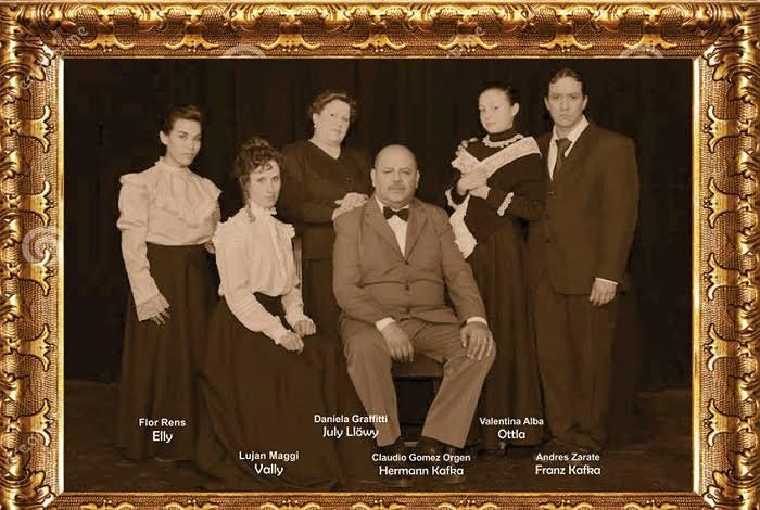 La historia familiar de Frank Kafka en el escenario