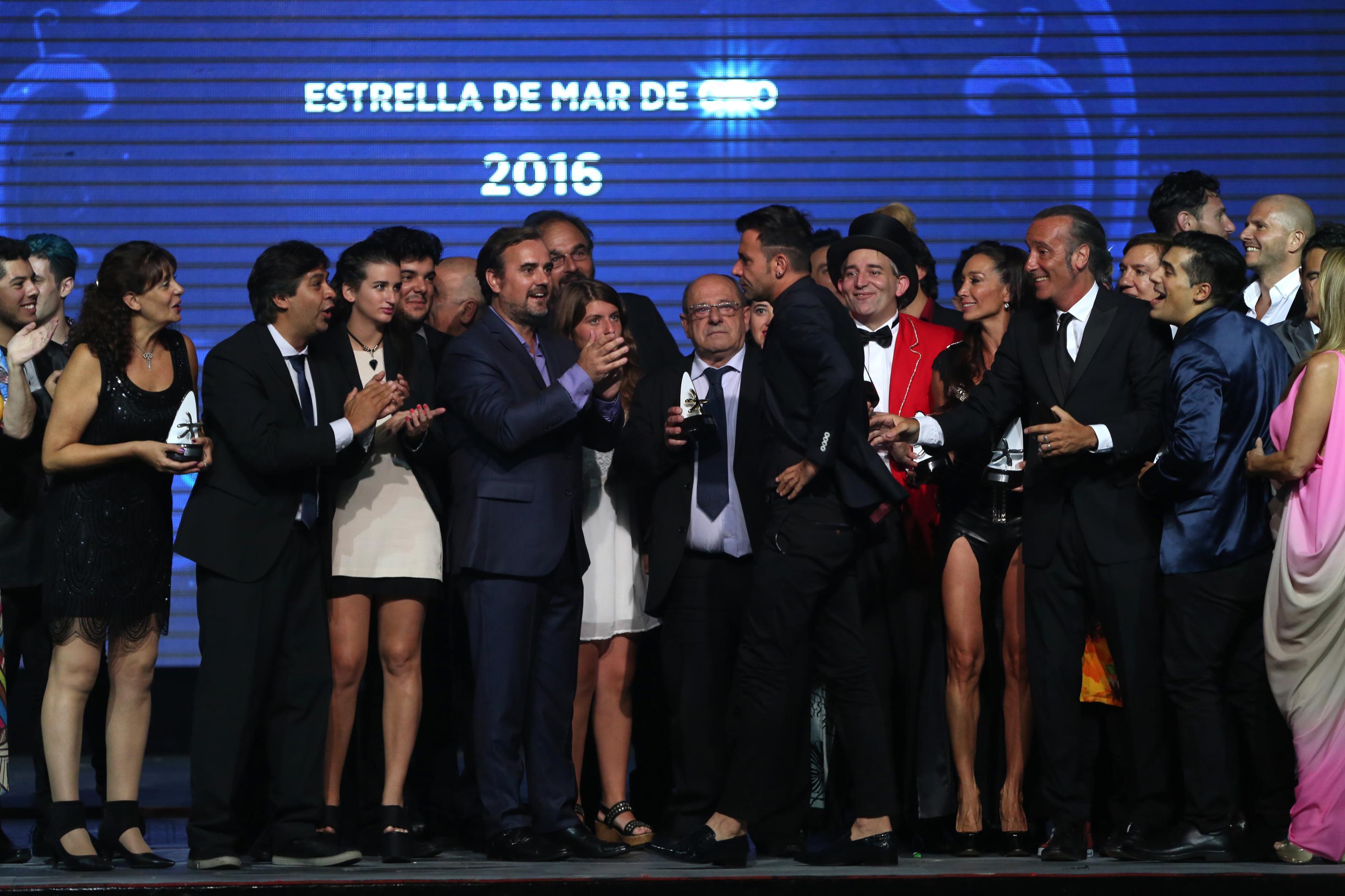 Martín Bossi ganó el Premio Estrella de Mar de Oro