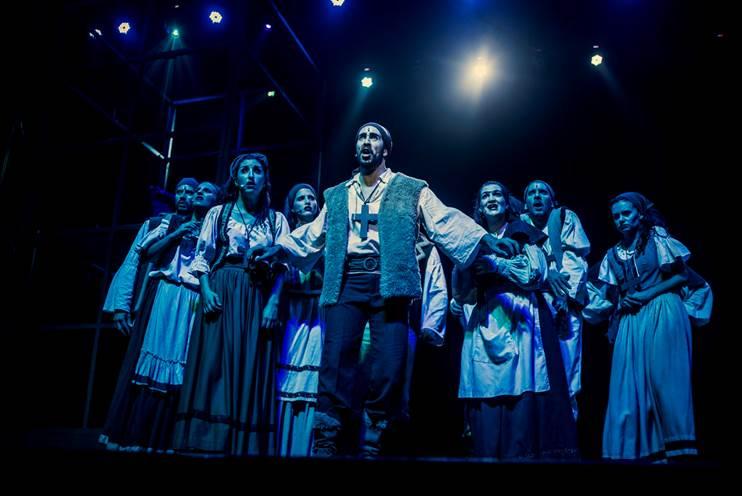 """Drácula, el musical"" se despide de Mar del Plata"