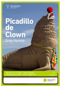 Flyer Picadillo de Clown