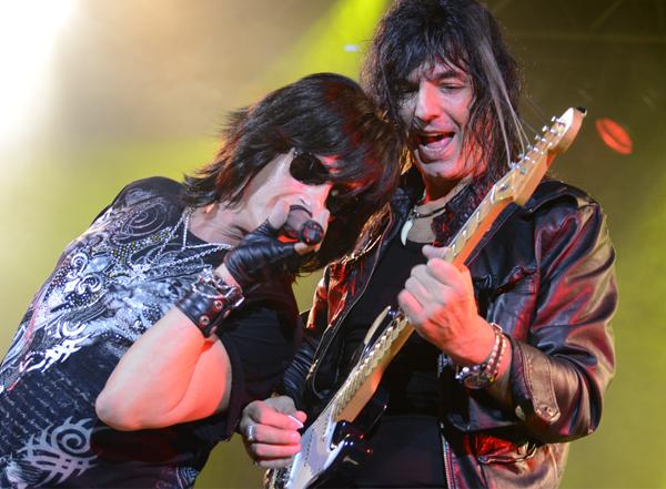 Walter Giardino & Joe Lynn Turner: Lo mejor de Rainbow y Deep Purple en vivo