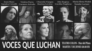 voces que luchan