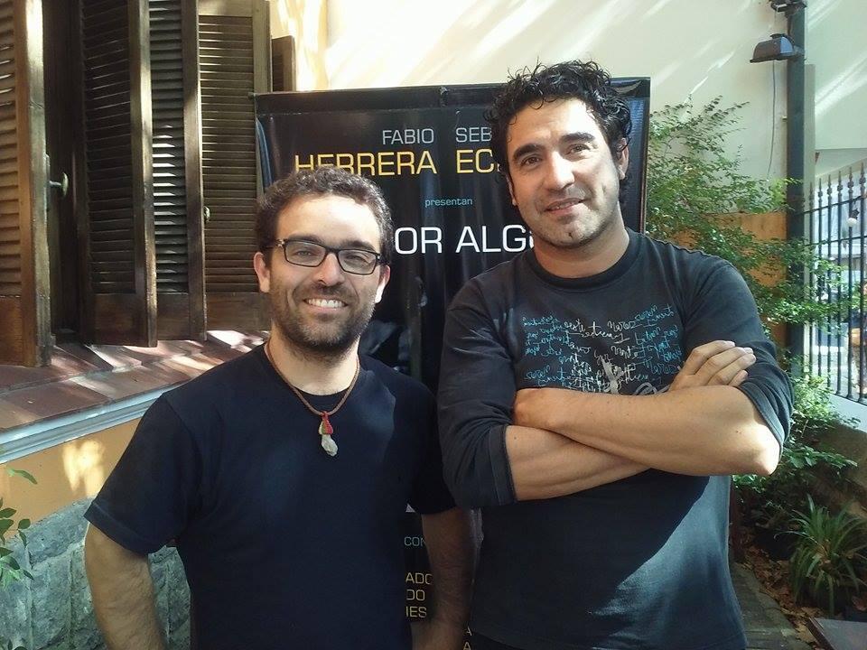 """Sebastián Echarry y Fabio Herrera  presentan """"Por algo"""""""