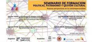 seminario politicas patrimonio gestion cultural