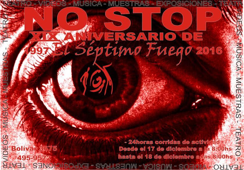 24 horas de teatro sin parar en El Séptimo Fuego