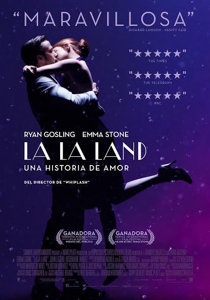 """Estrenan """"LA LA Land"""", con 14 nominaciones a los Oscar"""