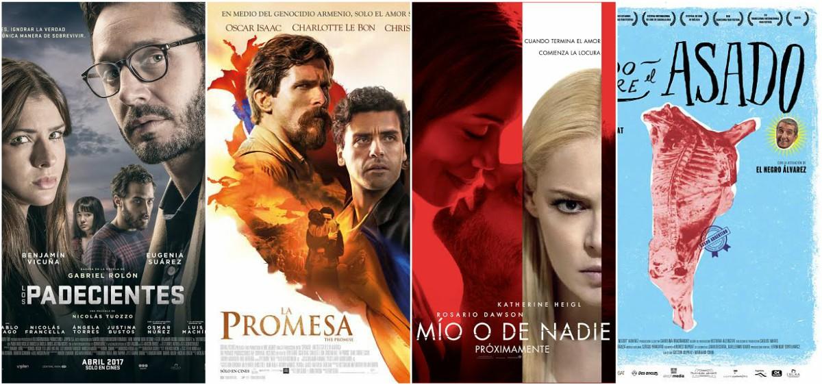 Cuatro películas renuevan la cartelera marplatense