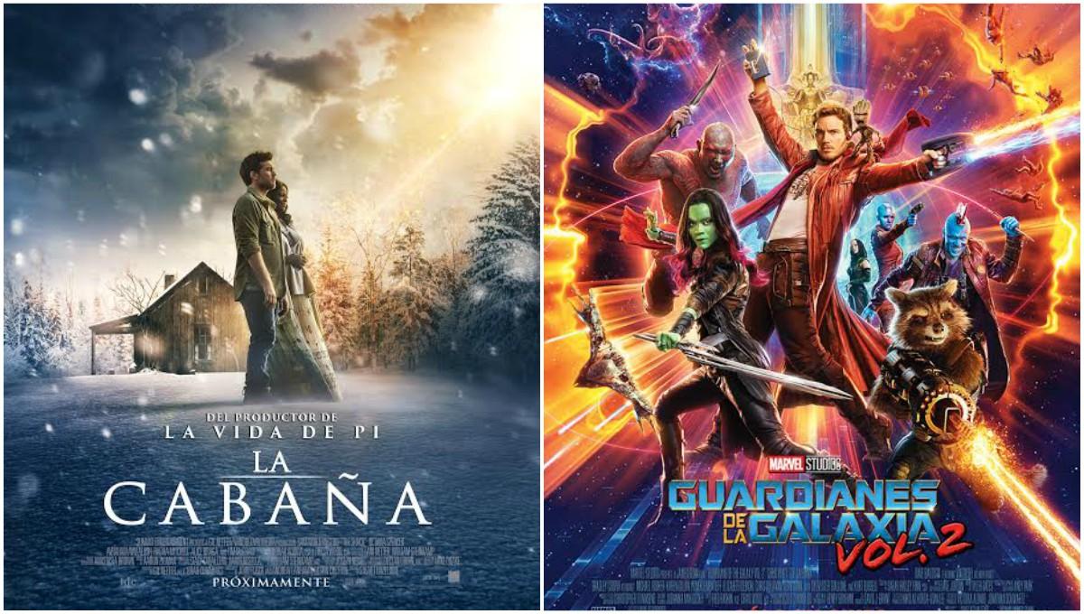 """Estrenos de cine: """"Guardianes de la Galaxia – Vol.2"""" y """"La Cabaña"""""""