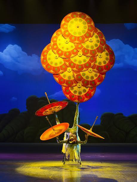 El Circo Imperial de China agotó su primera función
