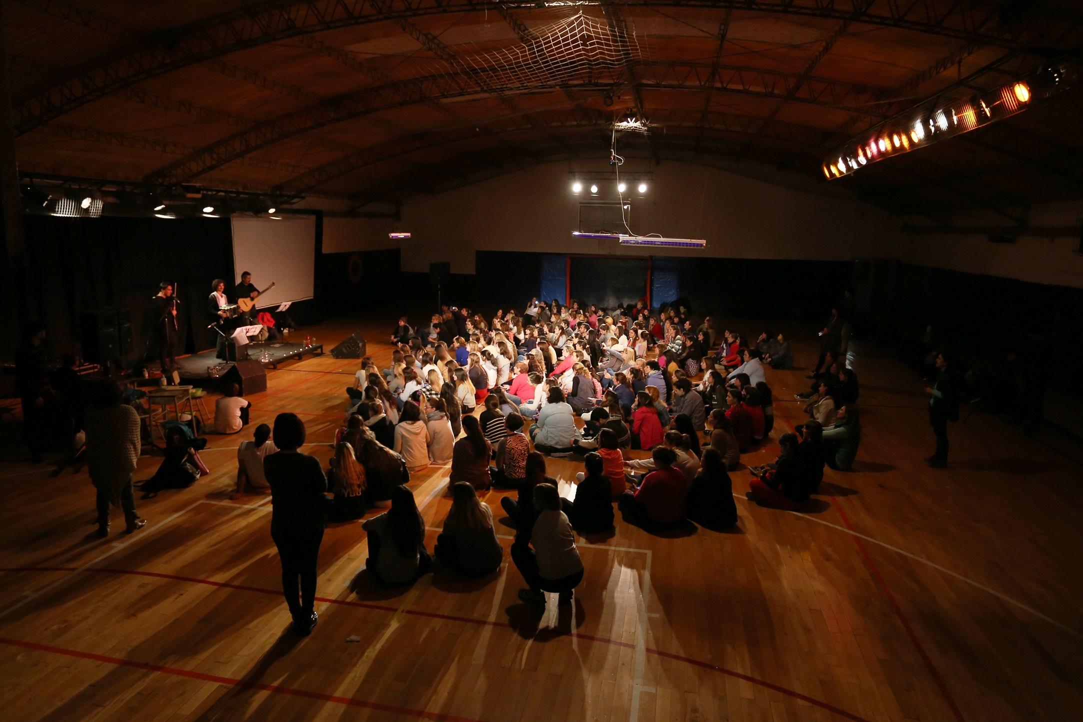Realizaron el 9º Encuentro Docente #RespirarAsombro, inspirado en Piazzolla