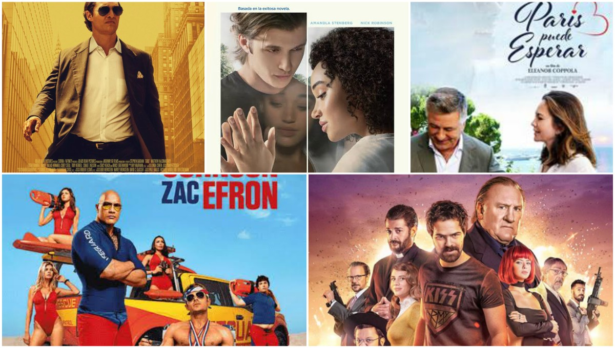 Estrenos de cine: comedias, acción y drama en la pantalla grande