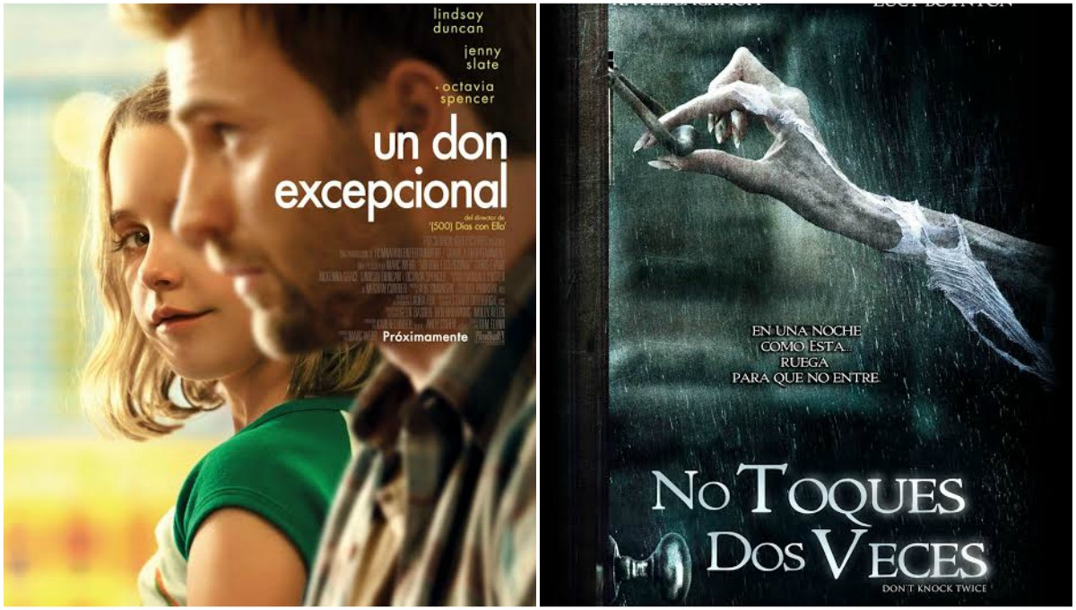 """Estrenos de cine: """"Un don excepcional""""y """"No toques dos veces"""""""