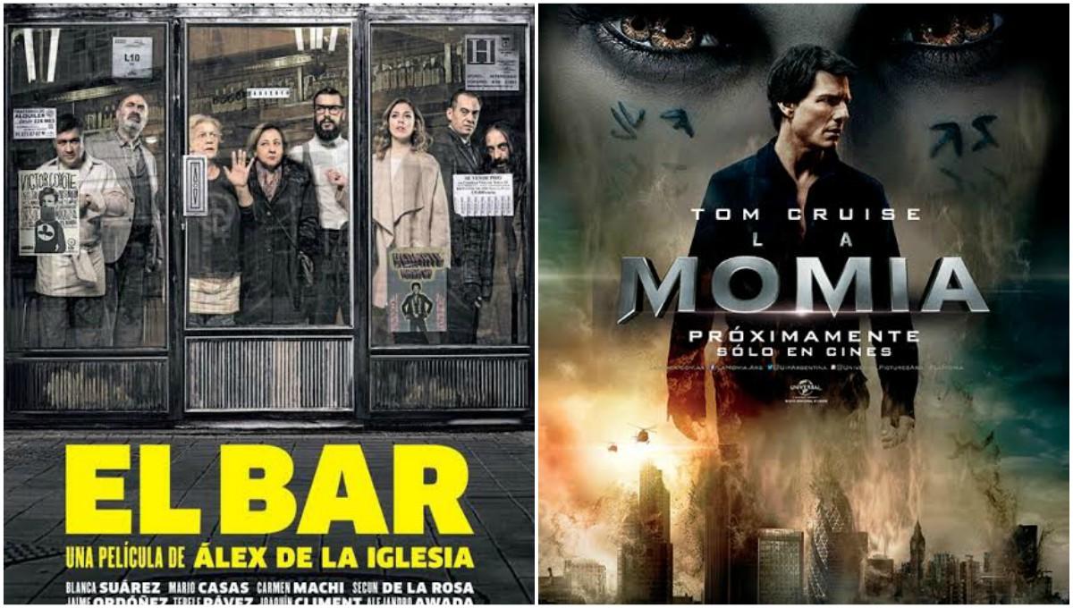 """""""La Momia"""" y """"El bar"""" se estrenan esta semana"""