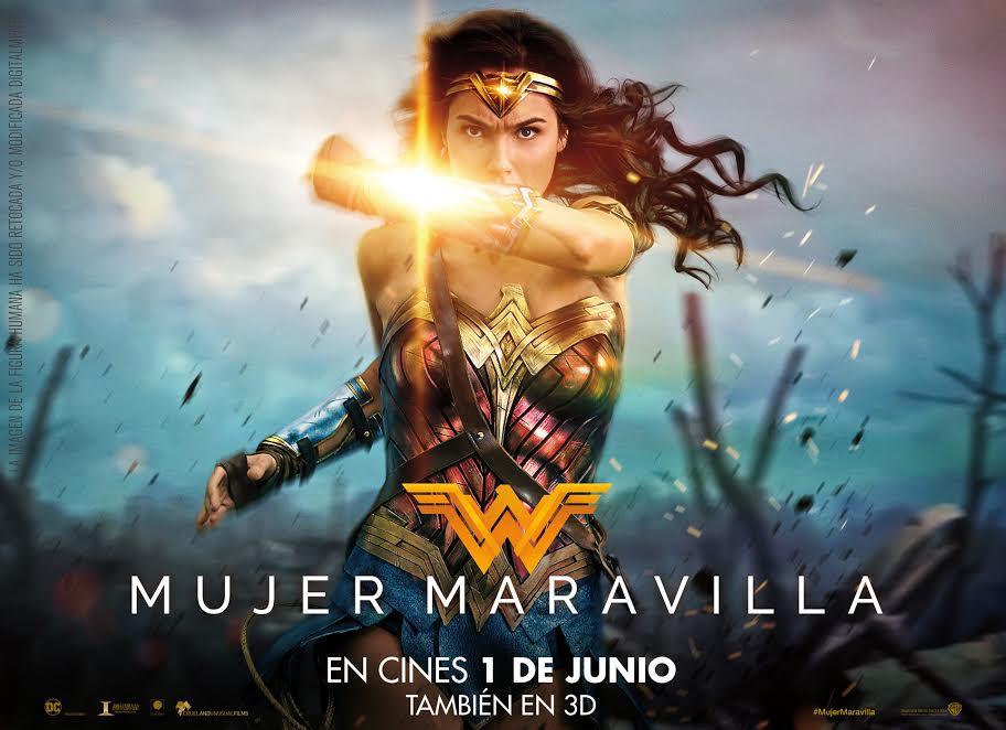 """""""Mujer Maravilla"""" y  """"Colossal"""" son los estrenos de esta semana"""