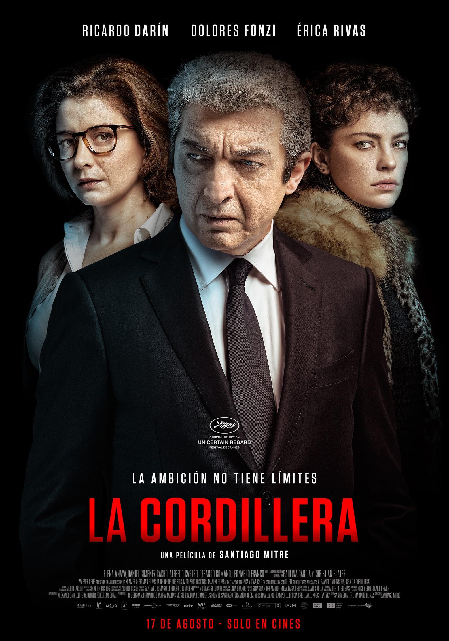 """Se estrena """"La cordillera"""", con Ricardo Darín"""