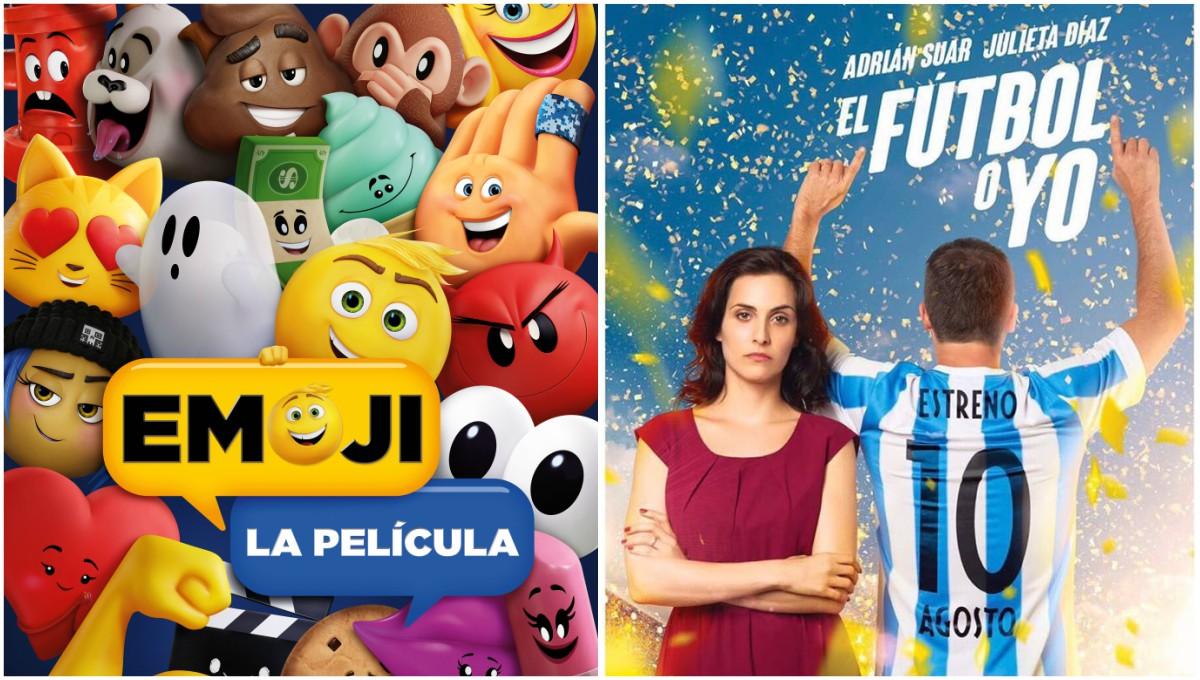 """Estrenos de cine: """"Emoji, La Película"""" y """"El fútbol o yo"""""""