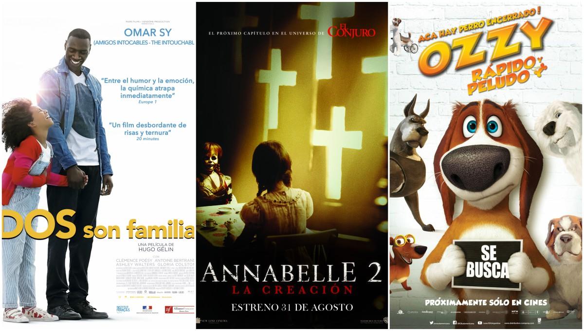 Tres estrenos renuevan la cartelera