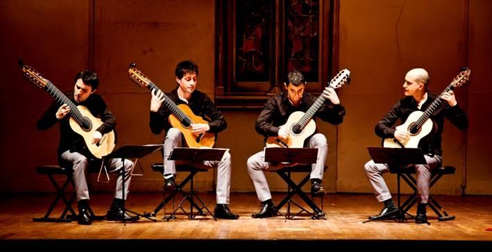 """Concierto gratuito del Cuarteto de Guitarras """"In Crescendo"""""""