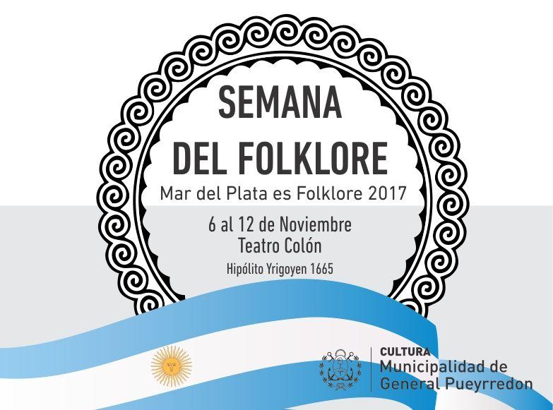 Comienzala Semanadel Folklore