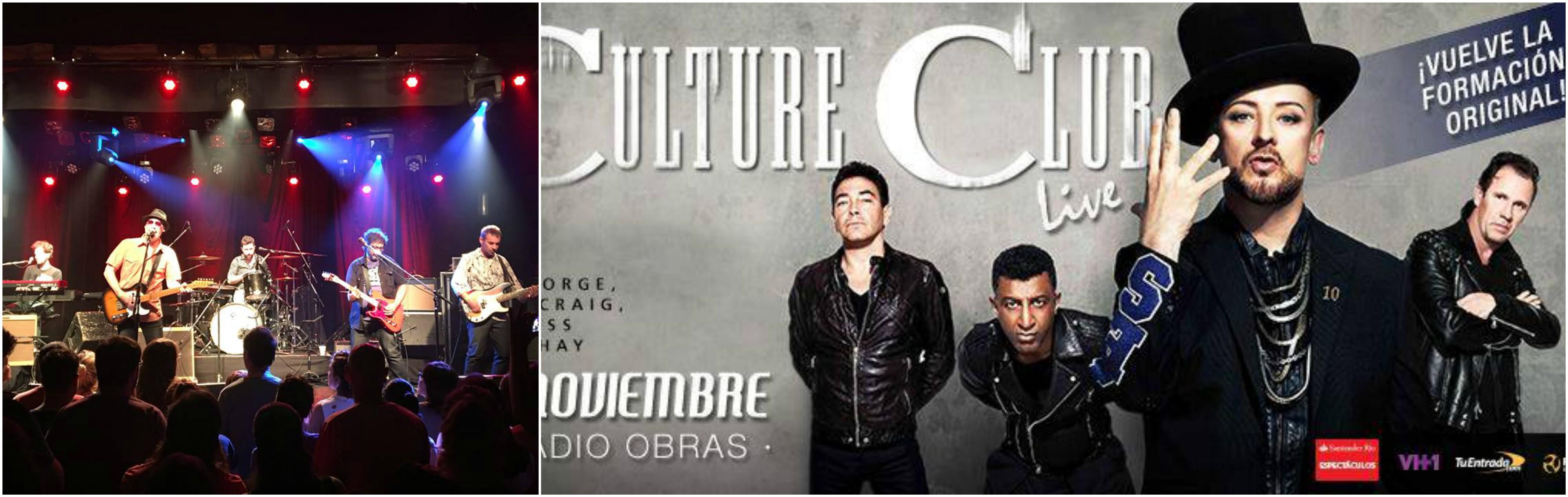 Los Super Ratones abrirán el concierto de Culture Club en Argentina