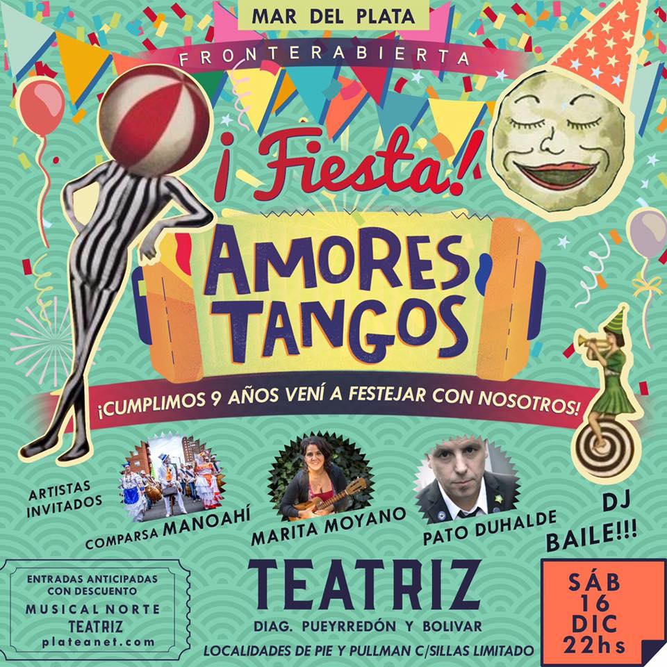 """Amores Tangos celebra la música y estrena """"Fronterabierta"""""""