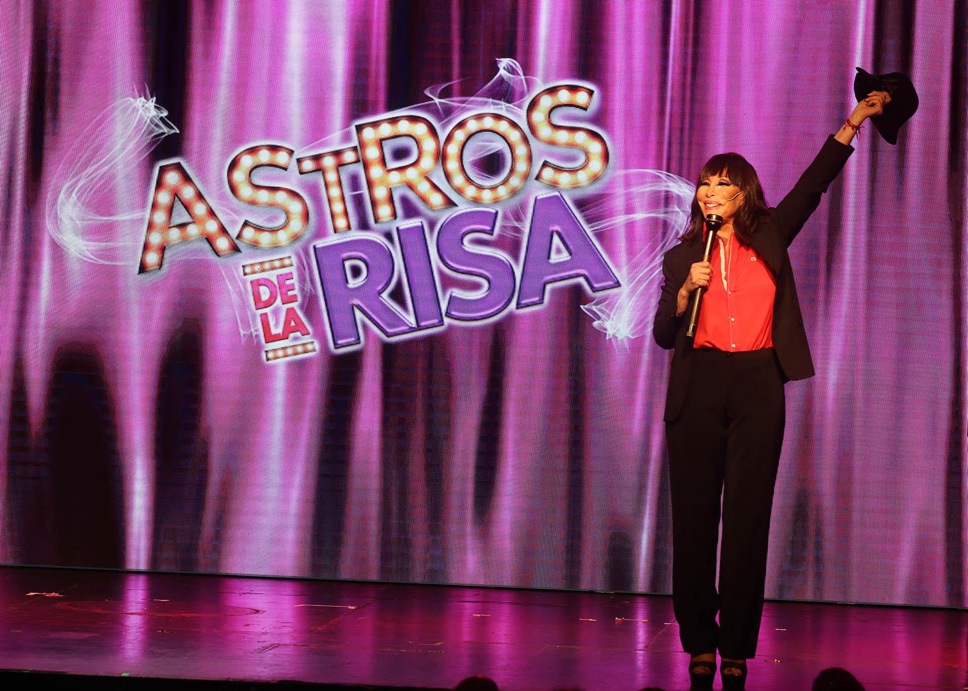 """Moria Casán vuelve con """"Astros de la risa"""""""