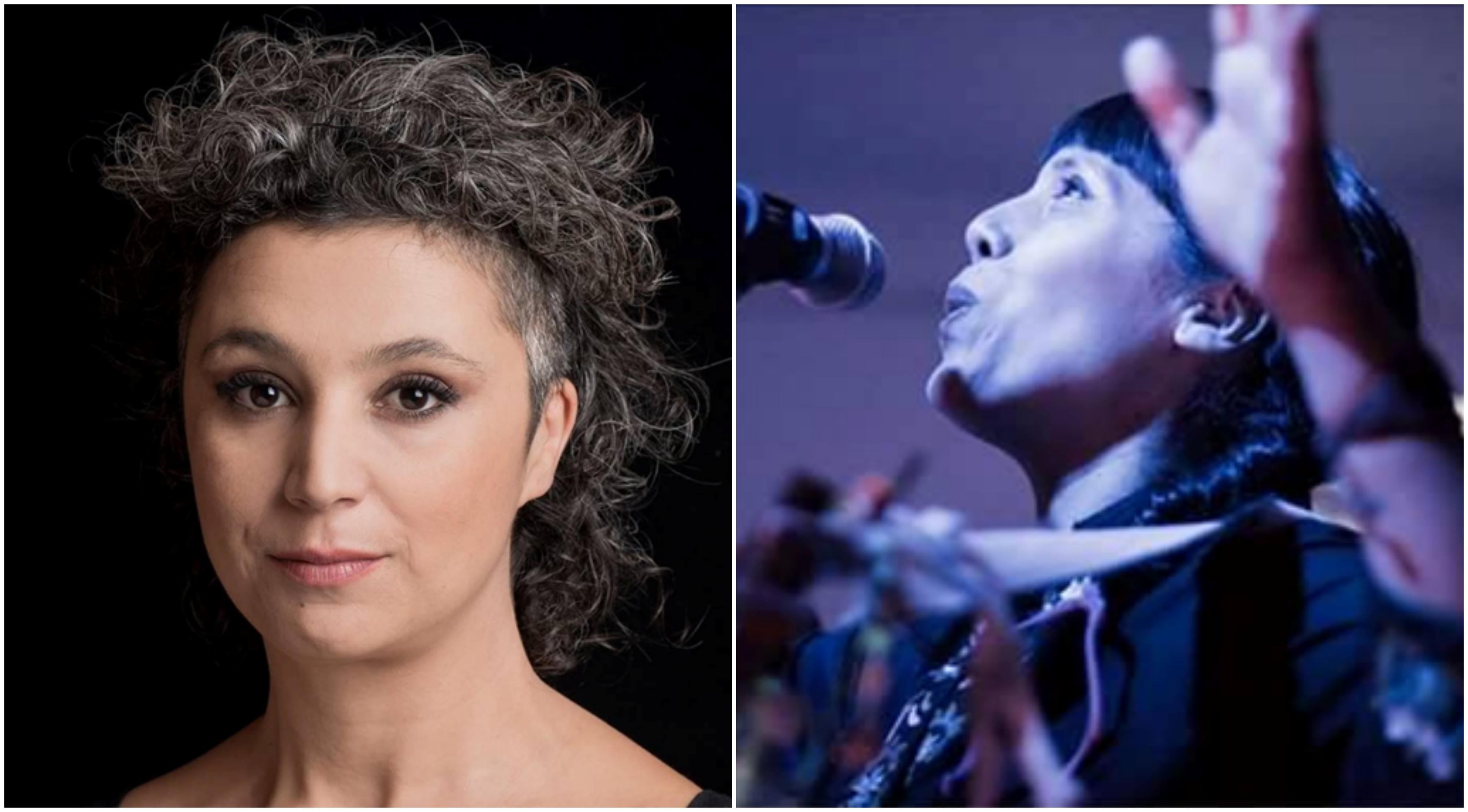 Luciana Jury y Soema Montenegro en Villa Victoria