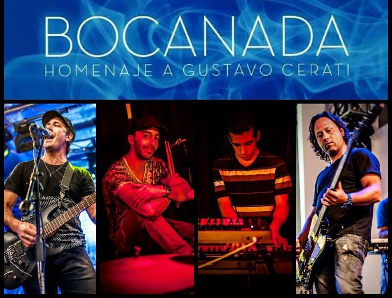 Bocanada: show homenaje a Gustavo Cerati