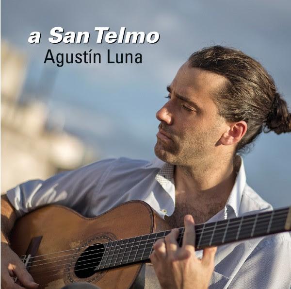 "Agustín Luna presenta su disco ""A San Telmo"""