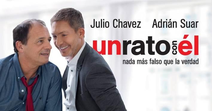"""Julio Chávez y Adrián Suar en """"Un rato con él"""""""