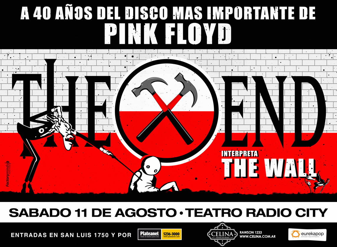 """""""The Wall"""" cumple 40 años y THE END lo trae a Mar del Plata"""