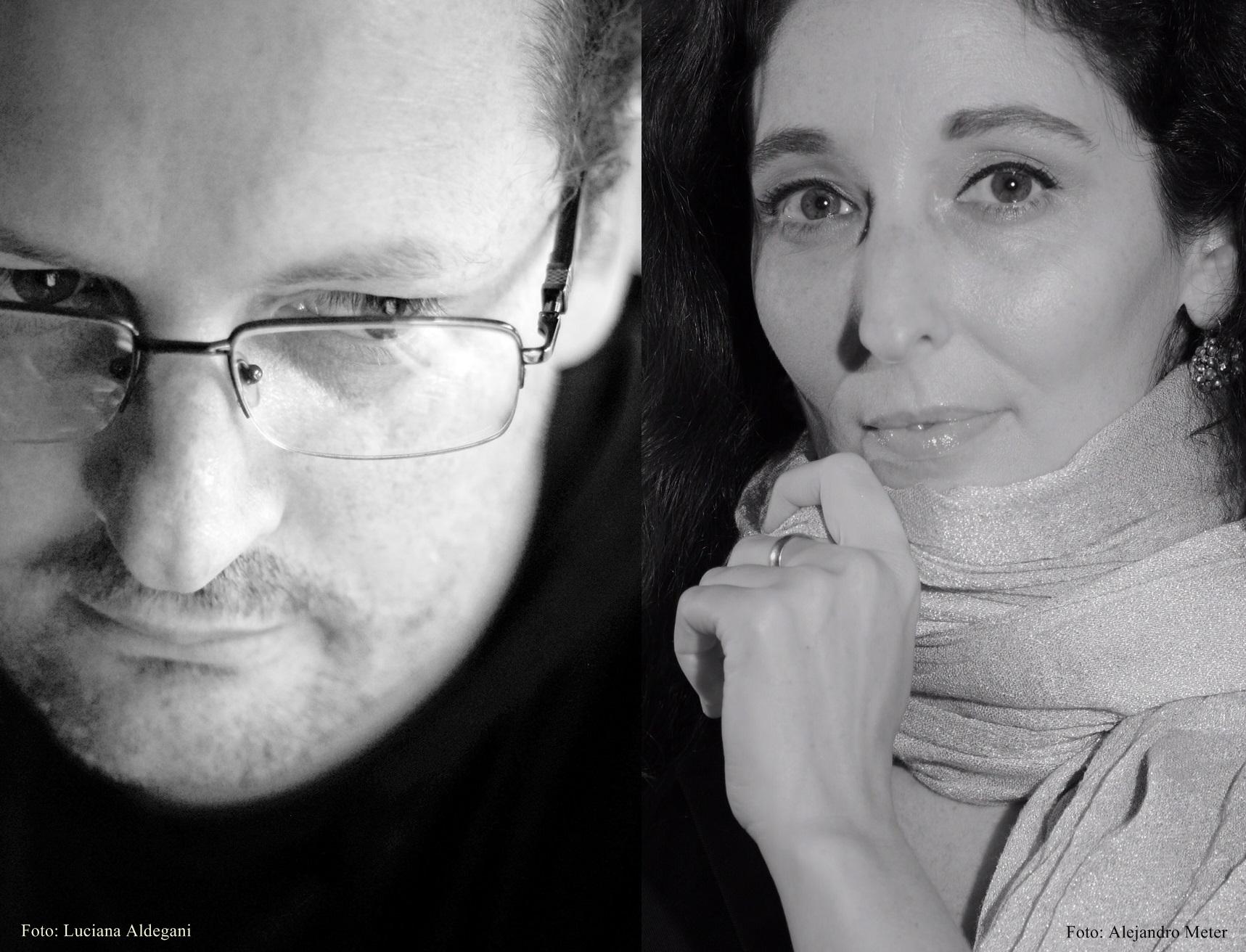 Tatiana Goransky y Sebastián Chilano en Encuentro con el Autor