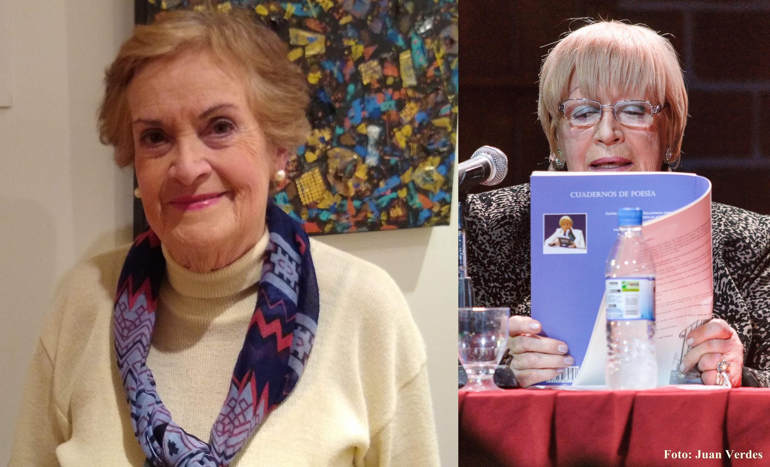 Marta Vega y Olga Ferrari en Encuentro con el Autor