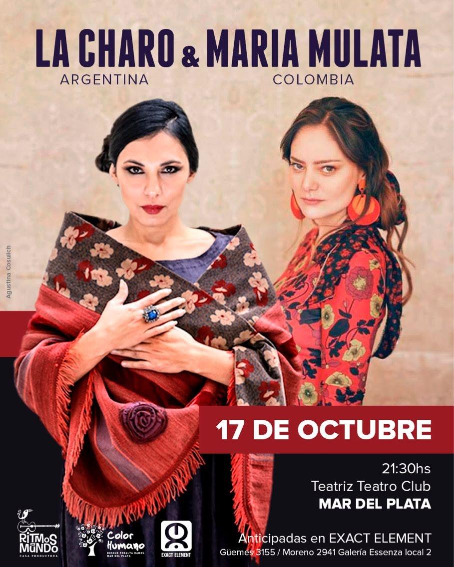 Latinoamérica unida en las voces de La Charo y María Mulata