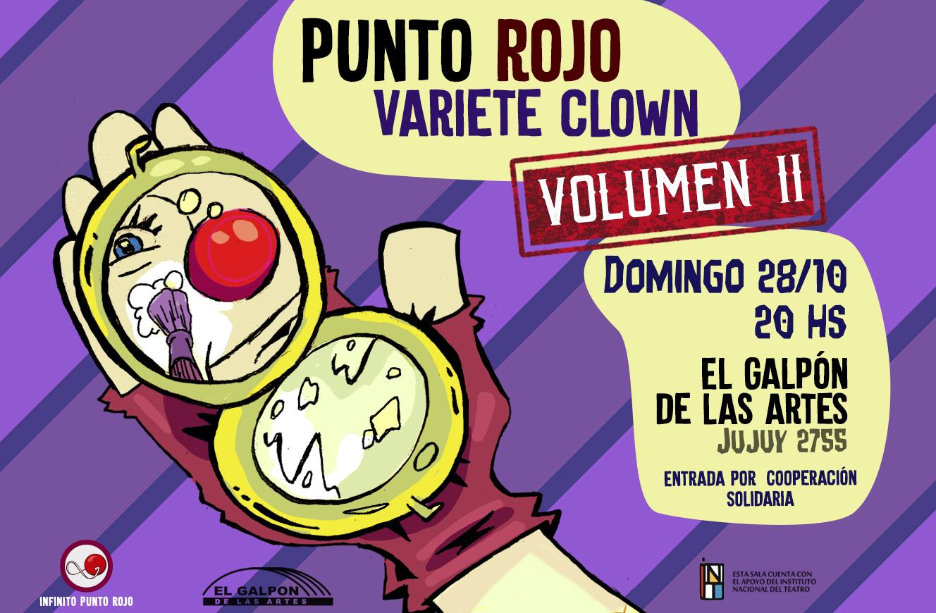 Llega la segunda edición del Punto Rojo Varieté Clown