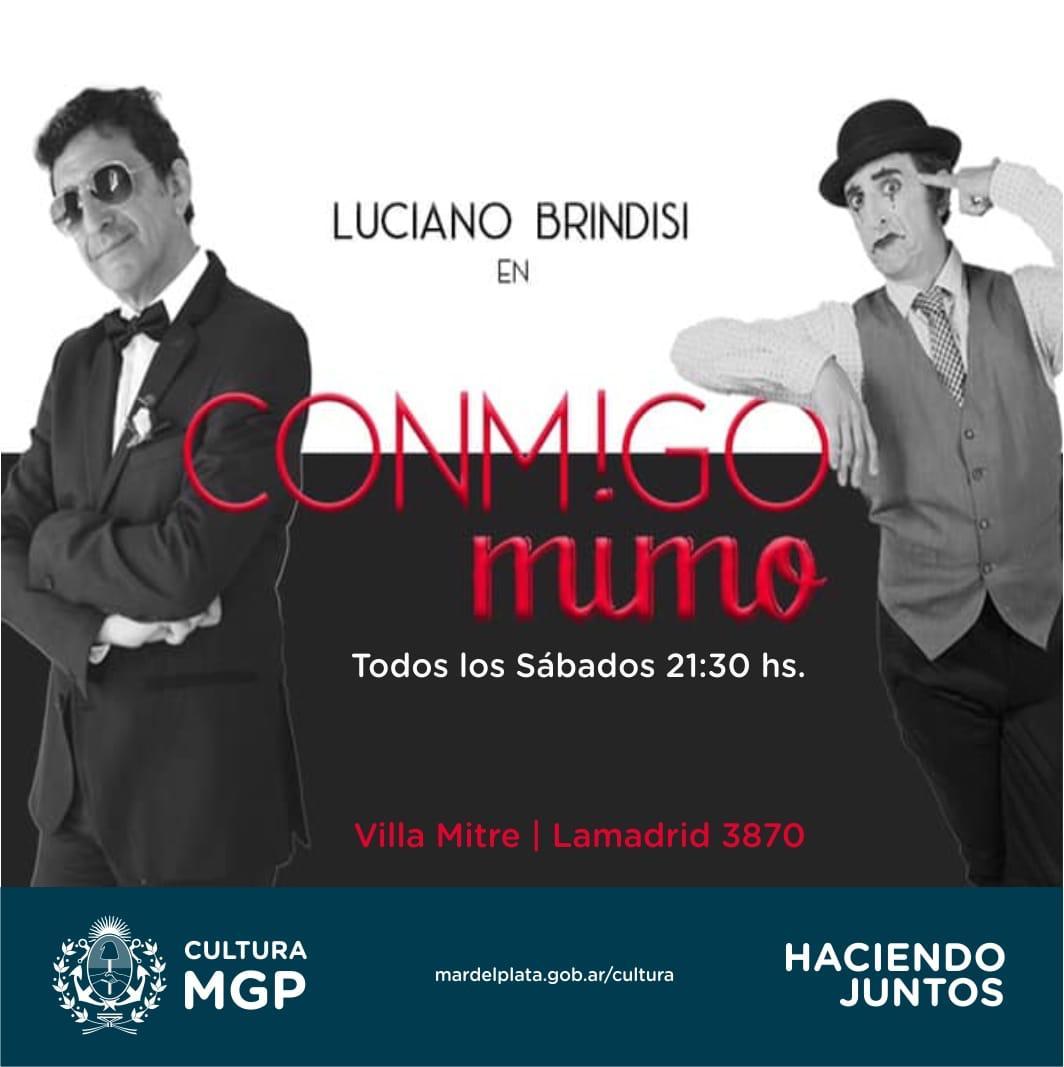 """""""Conmigo Mimo"""" : clown e improvisación de Luciano Brindisi"""