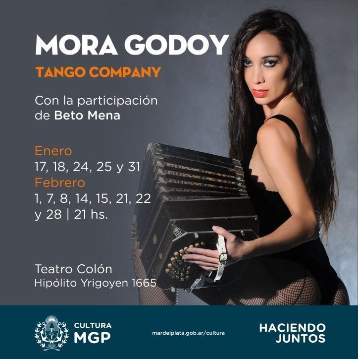 """Mora Godoy presenta """"Esto es tango"""""""