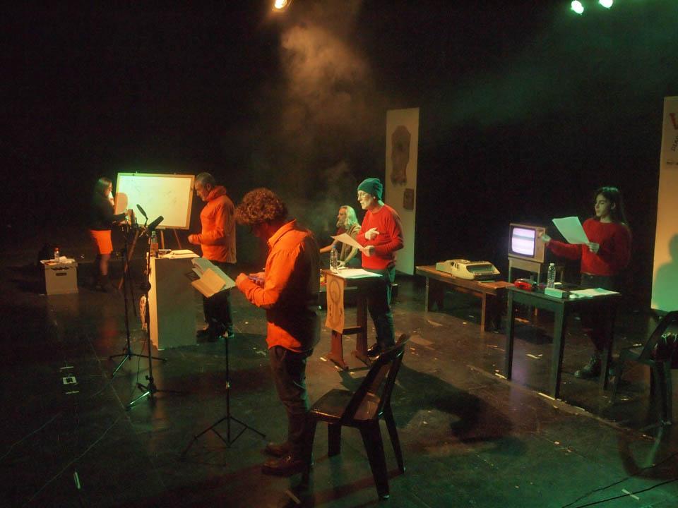 Poesía sonora y música de acción: Música Naranja