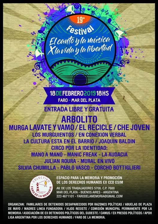 """Festival """"El Canto y la Música por la Vida y la Libertad"""""""