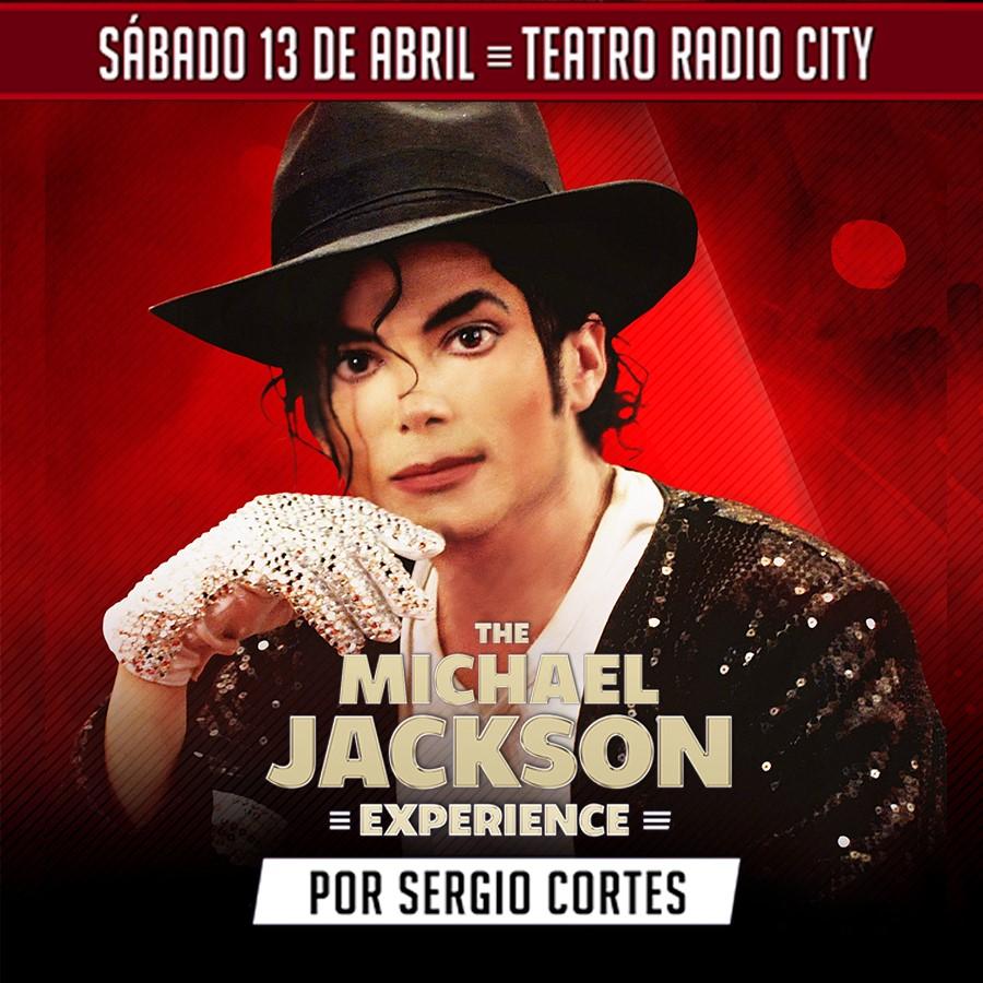 """Sergio Cortes regresa con su """"Michael Jackson Experience"""""""