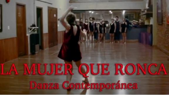 """Danza contemporánea con """"La mujer que ronca"""""""