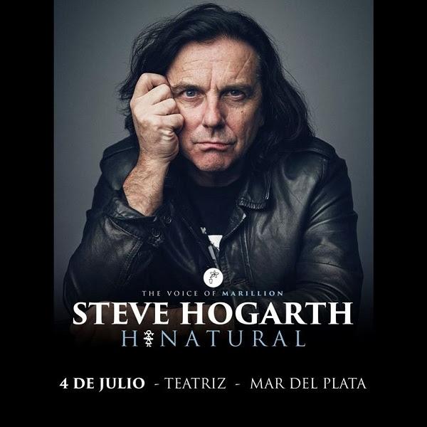 Steve Hogarth, el vocalista de Marilion llega a Mar del Plata
