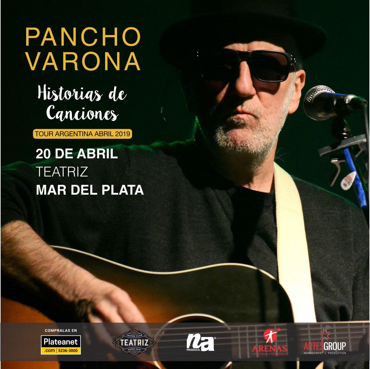 """Noche Sabinera: Pancho Varona llega con """"Historias de Canciones"""""""