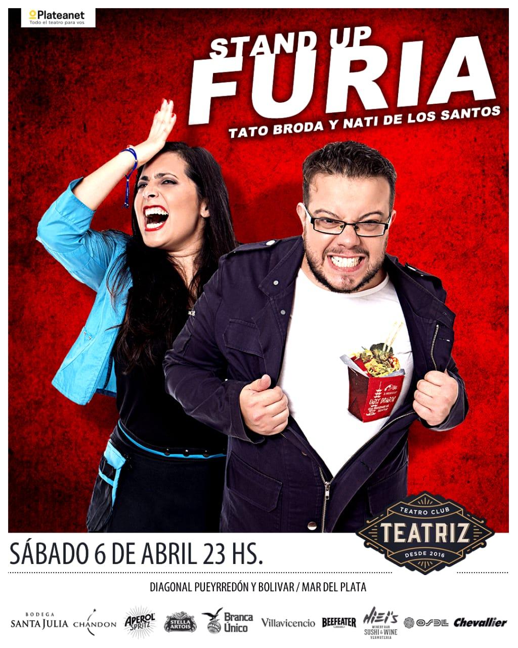 Furia!: un stand up explosivo