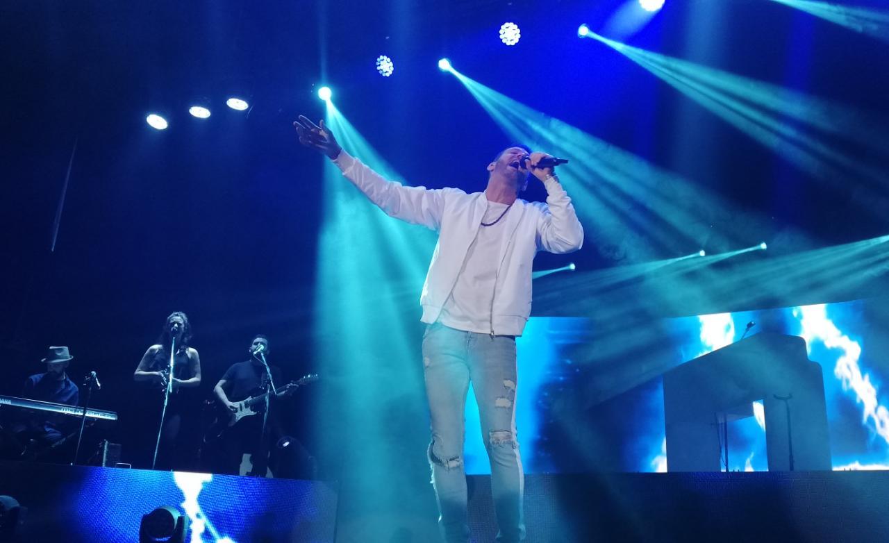 """Axel pasó por Mar del Plata con su """"Volver a Ser"""" Tour"""